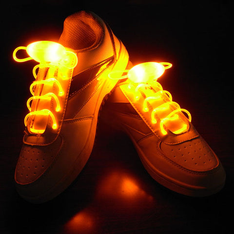Neon LED Shoe Laces