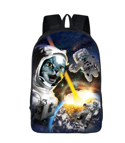 Galaxy 3D Universe Unicorn  Backpack