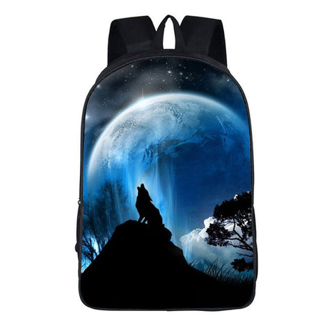 Howling Moon 3D Backpack - 5 styles