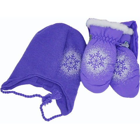 Sparkle Snowflake Gift Set Purple
