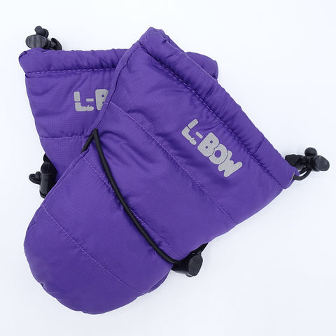 Infant Mitts Purple
