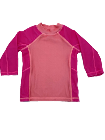 UPF 50+ Girls Swim Shirt