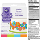 Wilton Decorator Preferred Neon Fondant, 4-Pack Fondant Icing: Kitchen & Dining