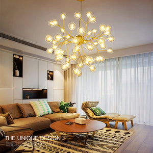 Gorgeous Glass Bubble Pendant Light