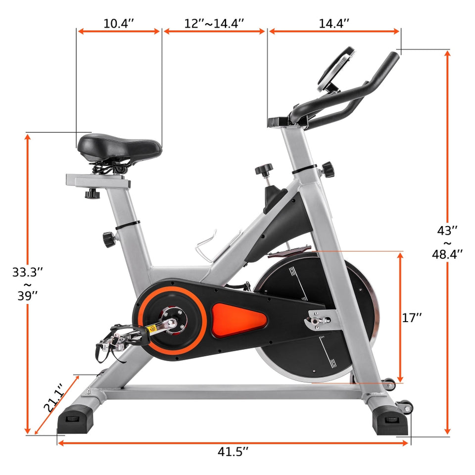 Indoor Cycling Bike Stationary | Belt Driven Smooth Exercise Bike