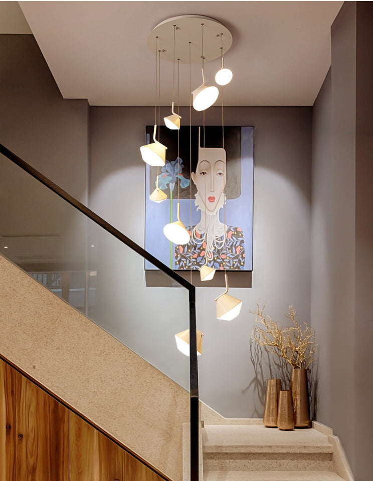 Staircase Led Chandelier