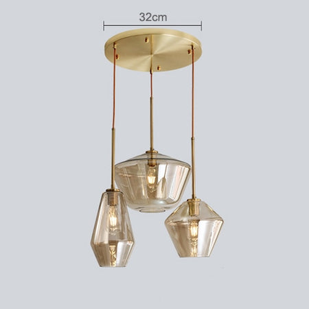 Nordic Modern Glass Pendant Lights