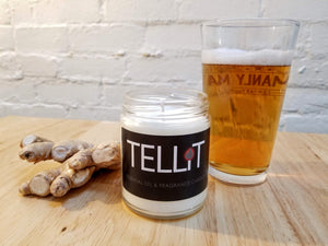 Ginger Beer - TELLiT Candles