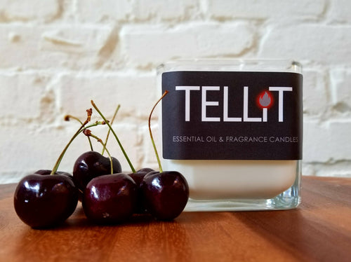 Black Cherry and Cinnamon - TELLiT Candles