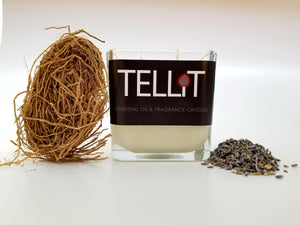 Lavender and Vetiver - TELLiT Candles