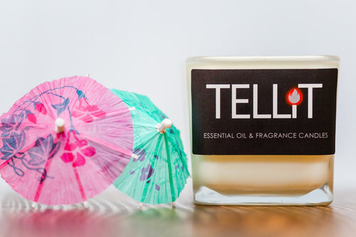 Drinks with Umbrellas - TELLiT Candles