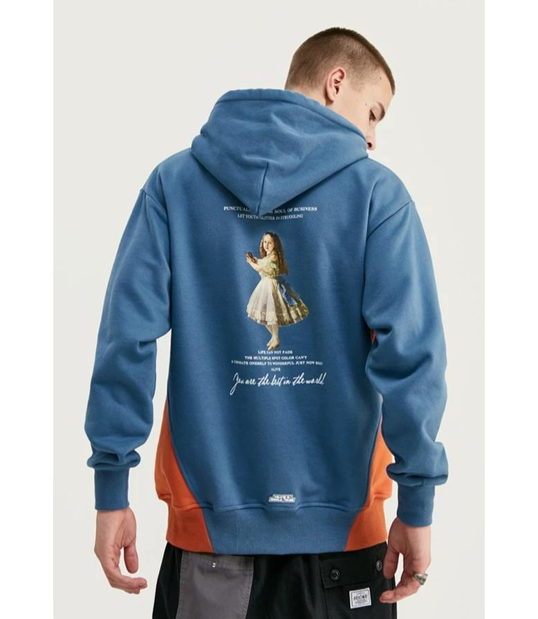 INFLATION Dropped Shoulder Hoodie