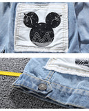 Children's Mickey Denim Jacket