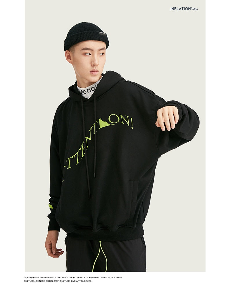 INFLATION Oversized Hoodies