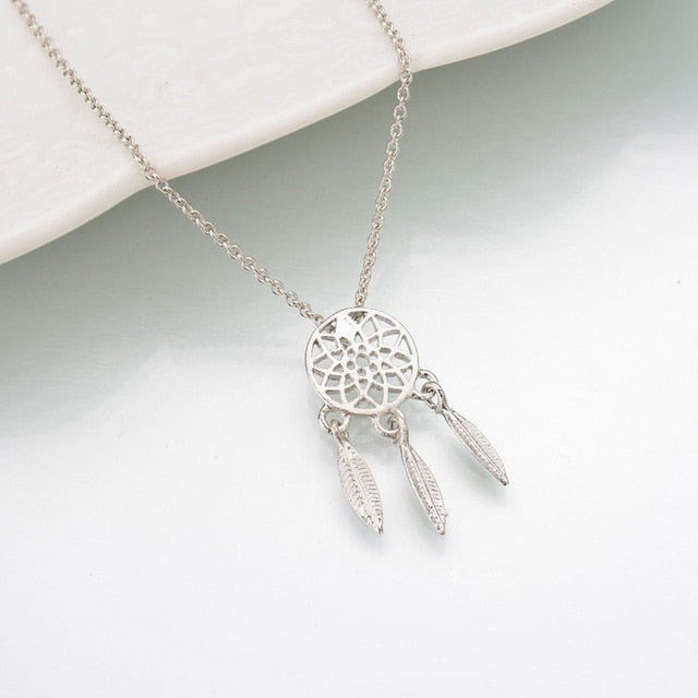 Dream Catcher Alloy Necklace