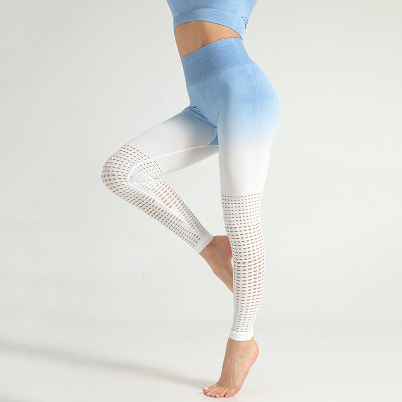 Gradient Push Up Workout Leggings