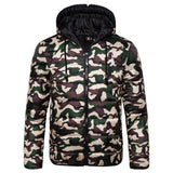 2019 New Waterproof Winter Jacket Men Hoodied Parka Men Warm Winter Coat Men Thicken Zipper Camouflage Mens Jackets