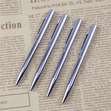 1Pcs Mini Metal Durable Ballpoint Pen Rotating Pocket-size Pen Portable BallPoint Pen Small Oil Pen Exquisite Writing Tool