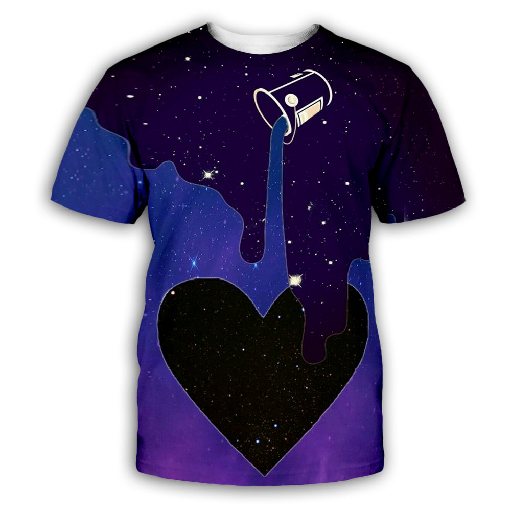Starry Cup 3D All Over Printed Art Shirts For Men & Women