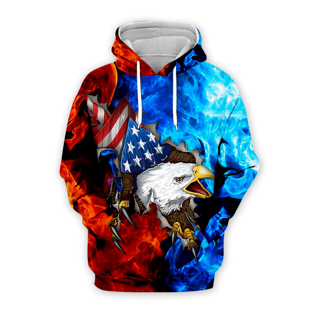 Independence Day 3D All Over Printed Art Shirts For Men & Women - PLstar VK