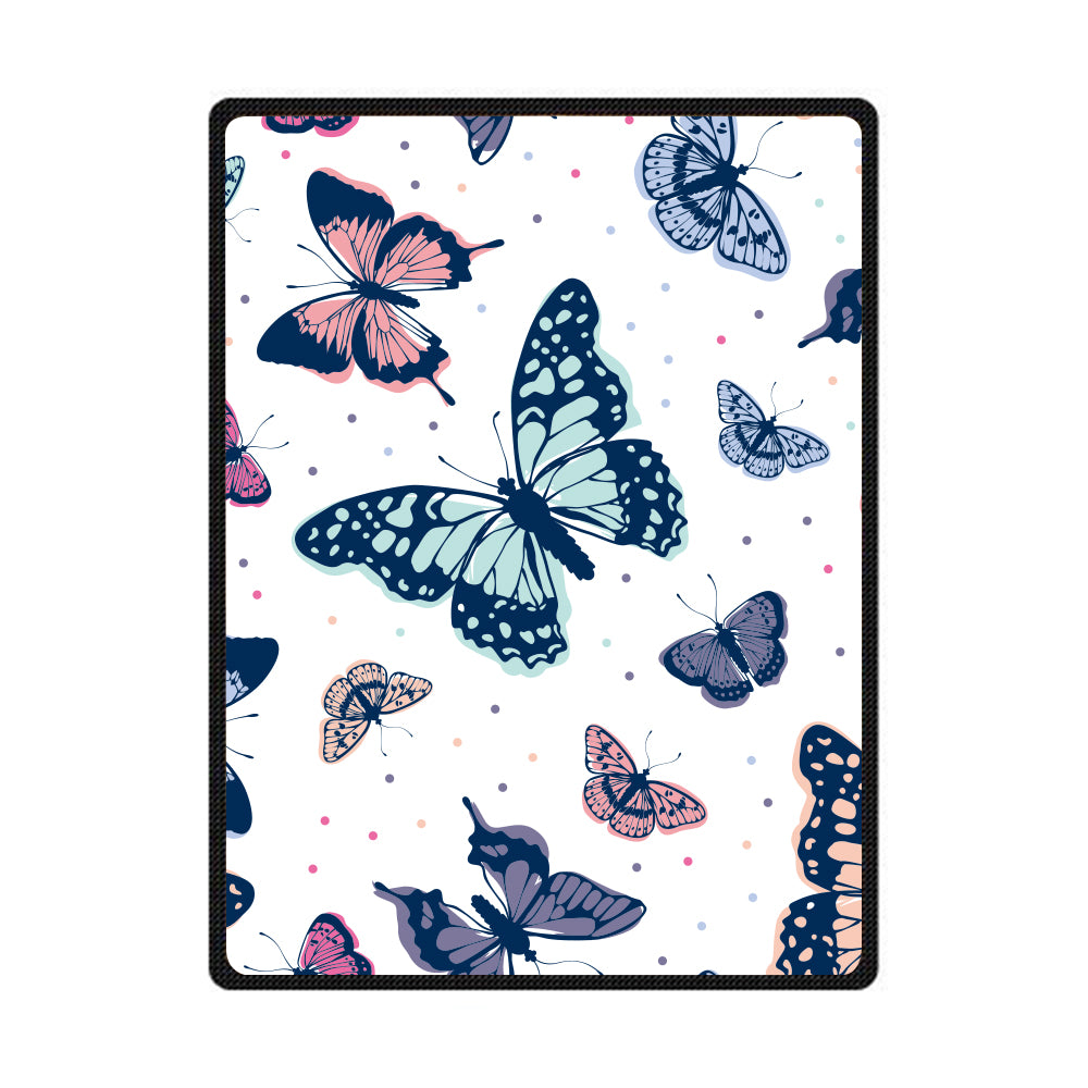 Butterfly 3D All Over Printed Square Blanket - PLstar VK