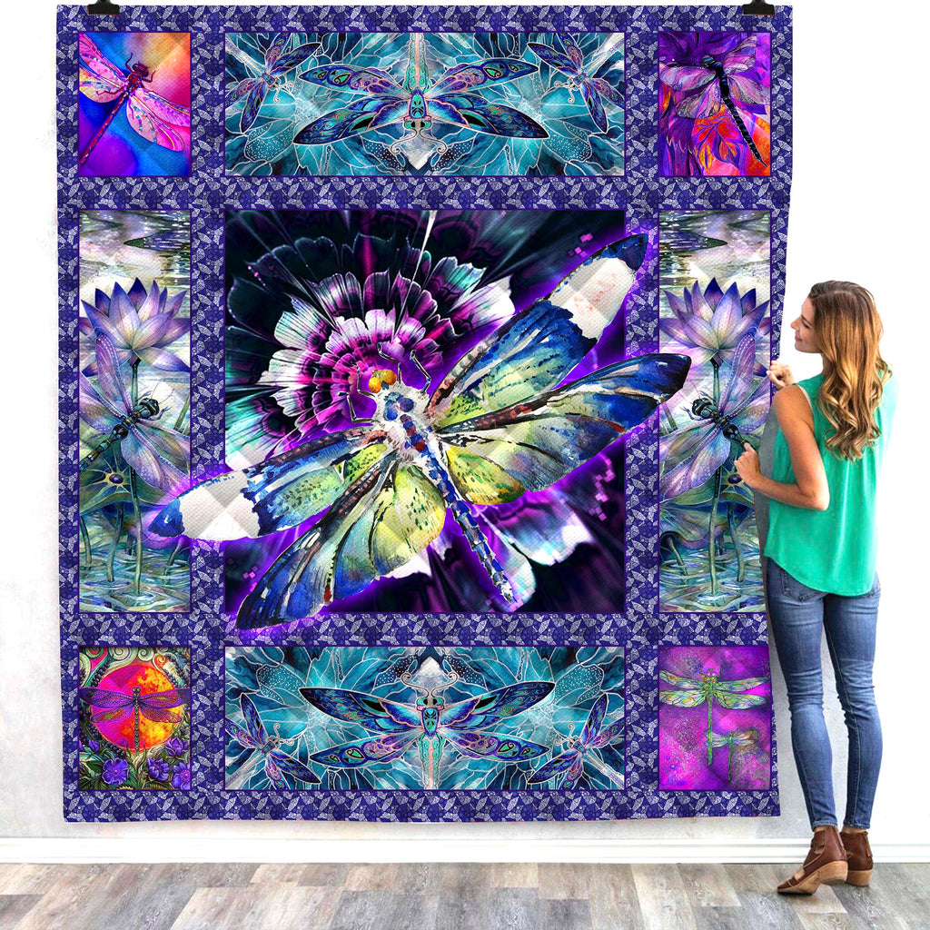 Insect 3D All Over Printed Quilts