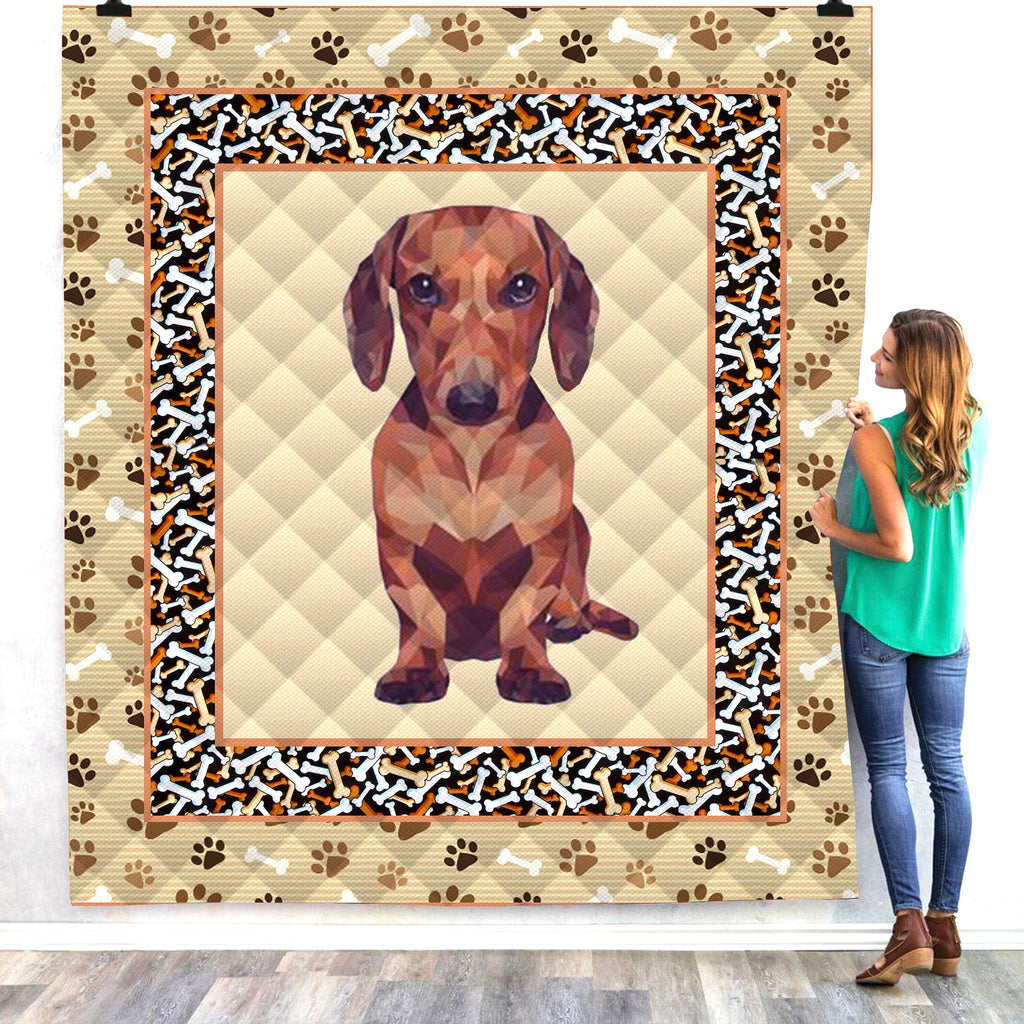 Dog 3D All Over Printed Quilts - PLstar VK