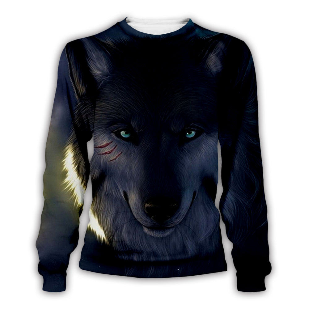 Wolf 3D All Over Printed Art Shirts For Men & Women - PLstar VK
