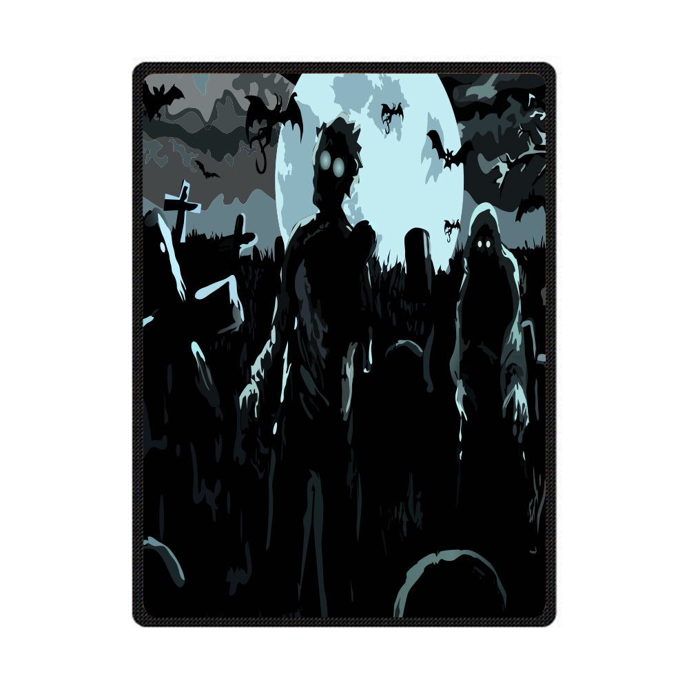 Horror Art Tower 3D All Over Printed Square Blanket