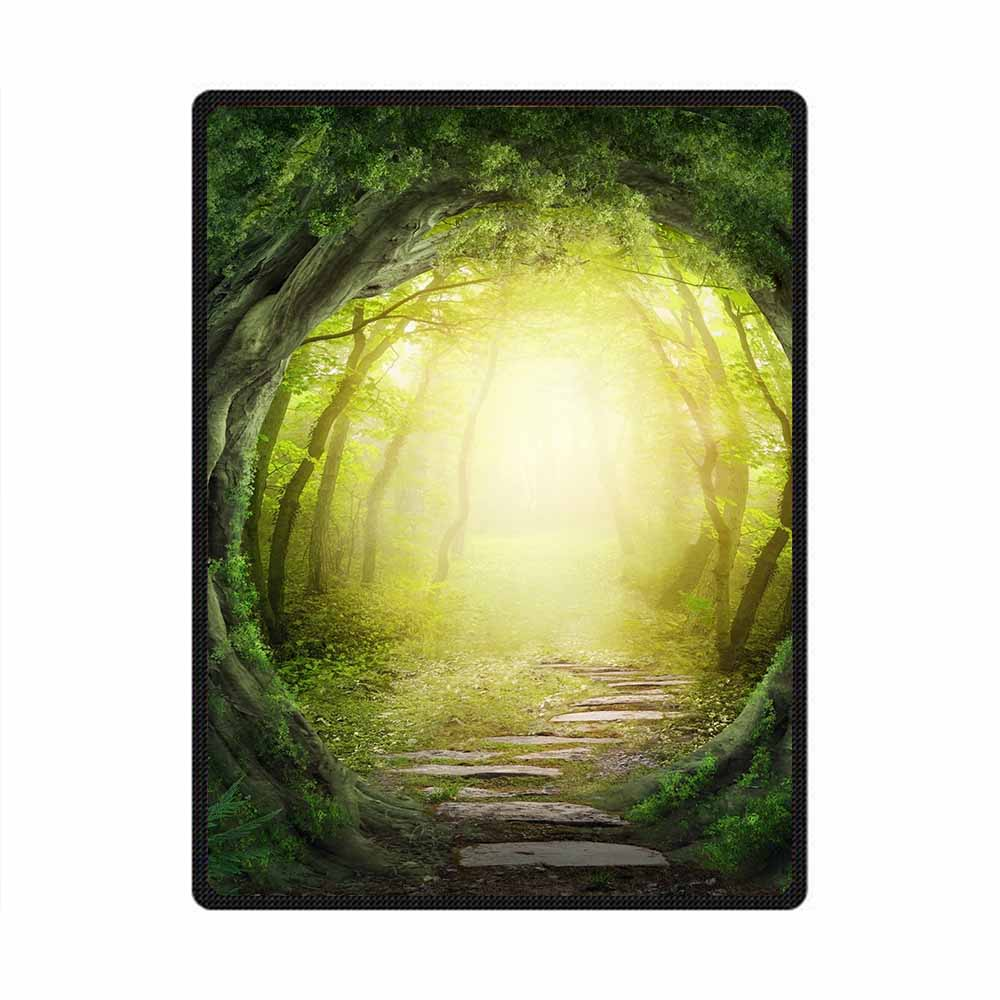 Forest 3D All Over Printed Square Blanket