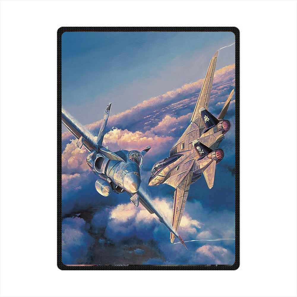 Pilot 3D All Over Printed Square Blanket