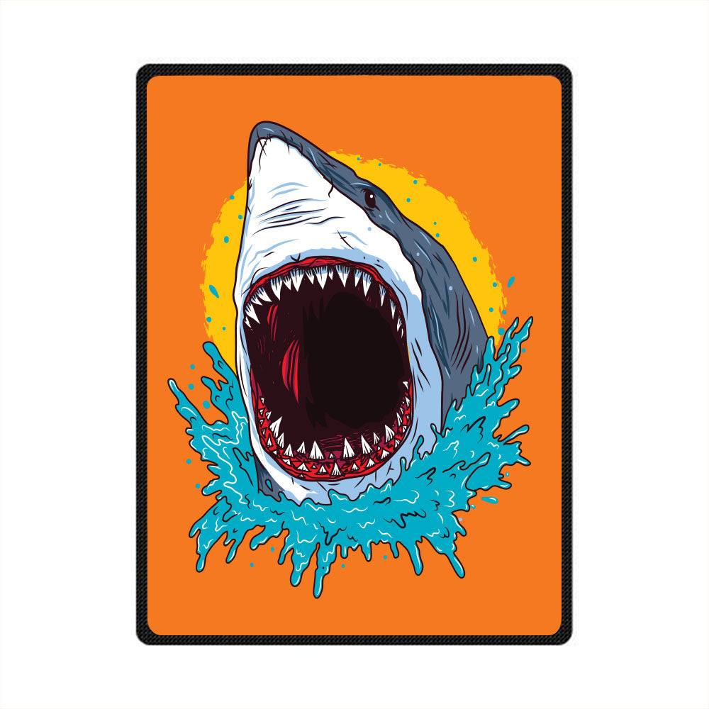 Shark 3D All Over Printed Square Blanket