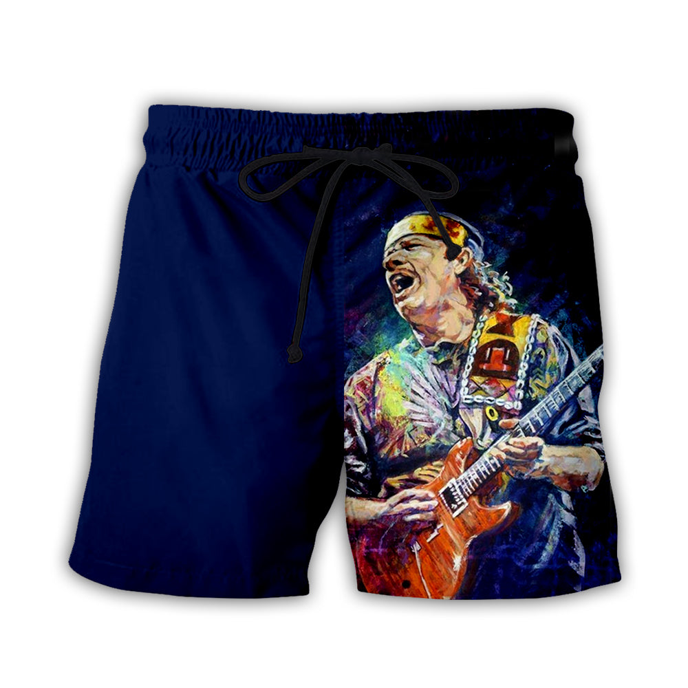 Guitar 3D All Over Printed Art Shirts For Men & Women