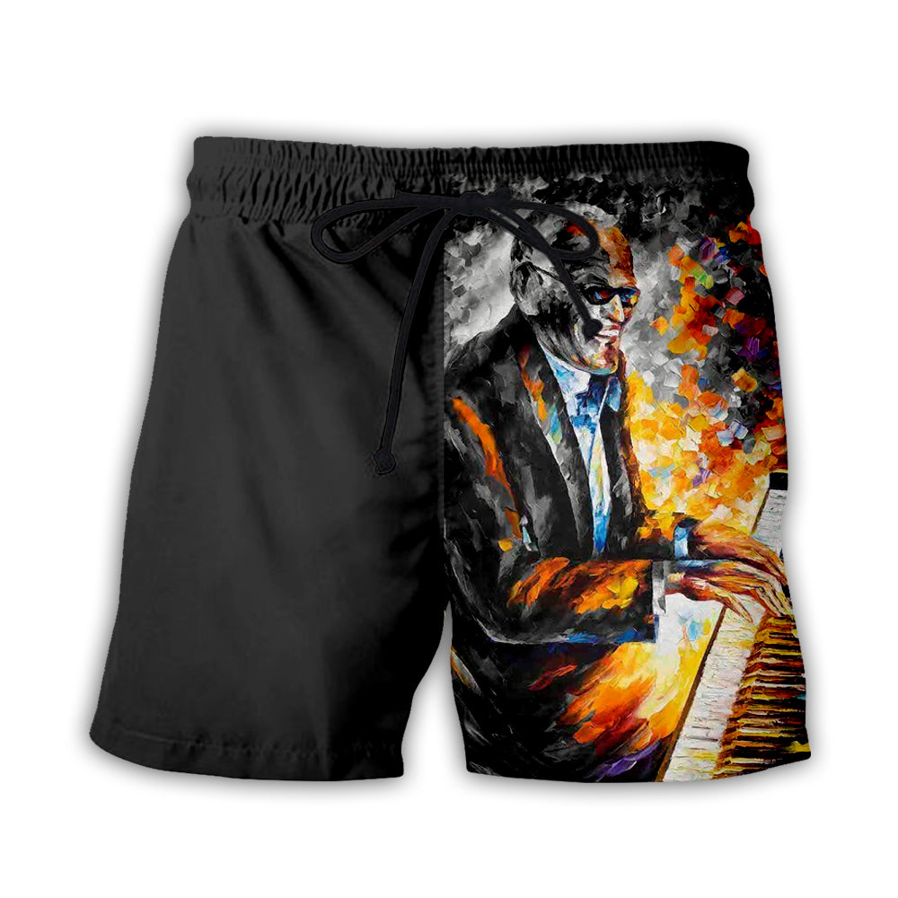 Piano 3D All Over Printed Art Shirts For Men & Women