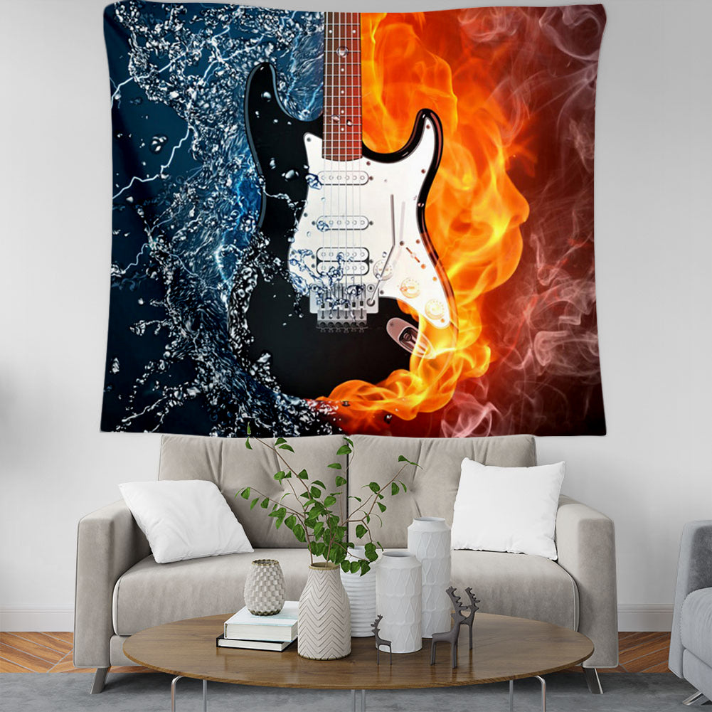 Guitar 3D All Over Printed Tapestry - PLstar VK