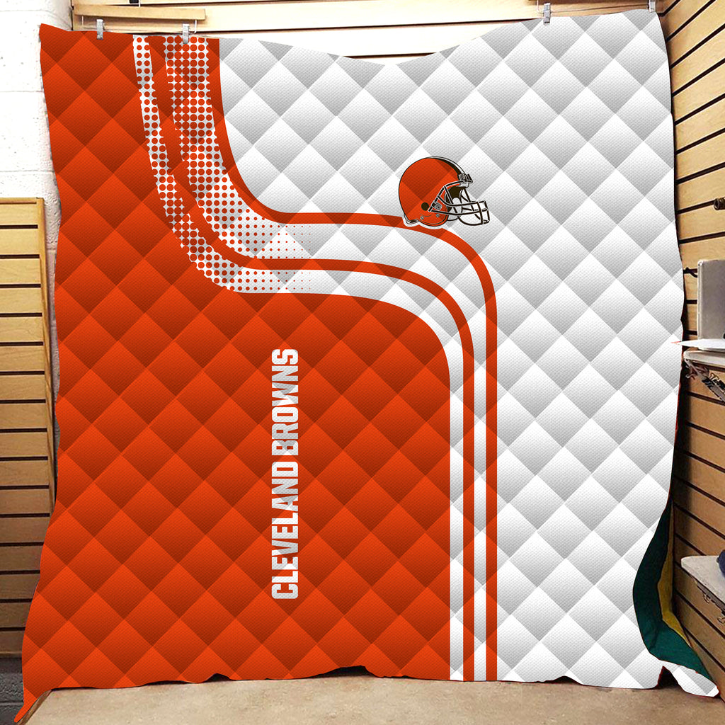 Team Logo 3D All Over Printed Quilts