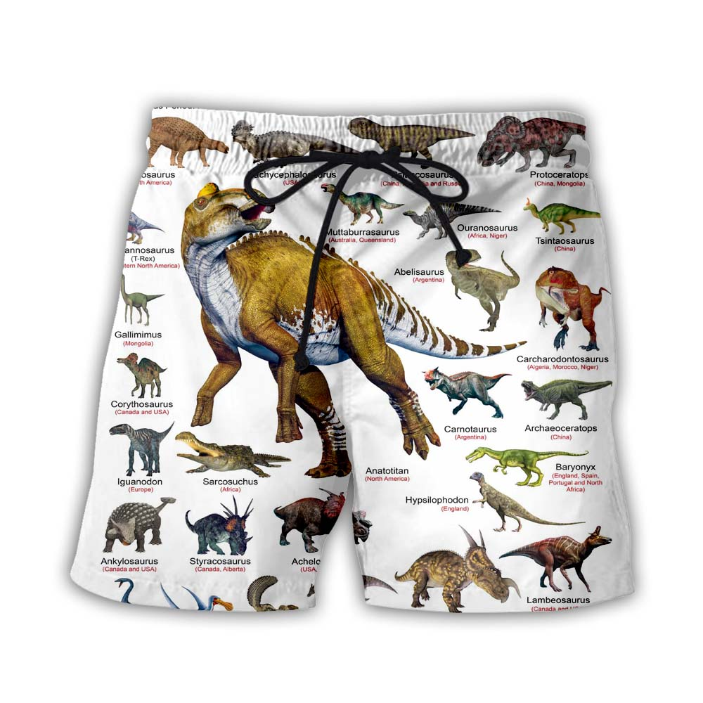 Cretaceous Period Dinosaurs 3D All Over Printed Shirts For Men&Women - PLstar VK