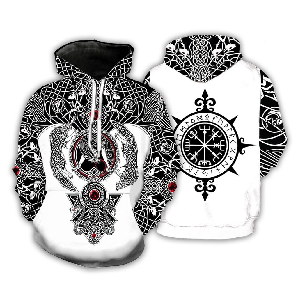 Viking Tattoo 3D All Over Printed Shirts For Men&Women - PLstar VK