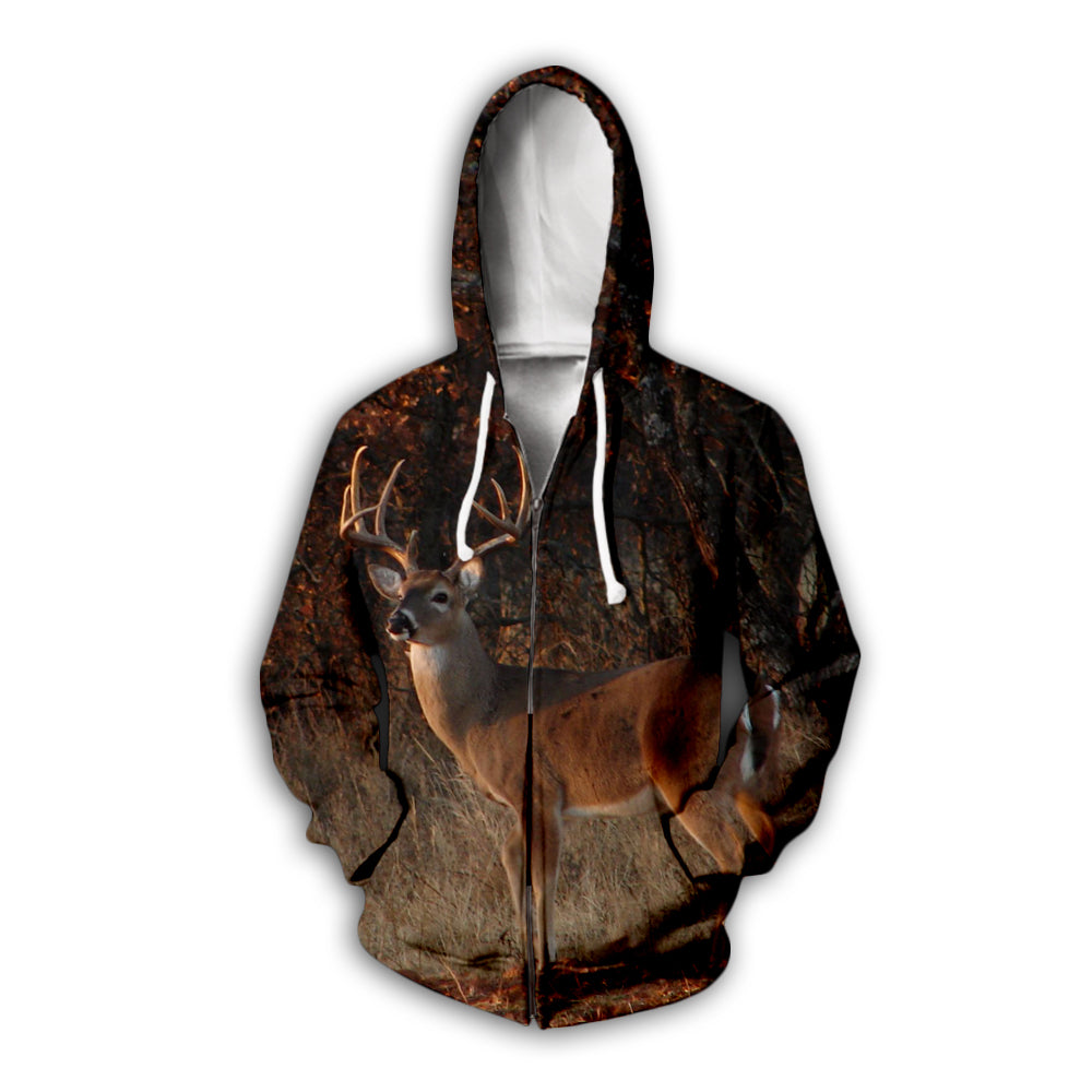 Deer Art 3D All Over Printed Shirts For Men & Women - PLstar VK