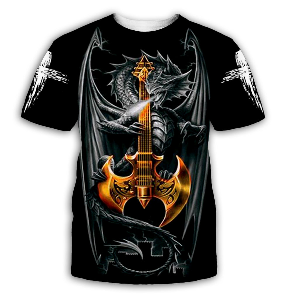 Chinese Dragon Tattoo 3D All Over Printed Shirts For Men&Women - PLstar VK