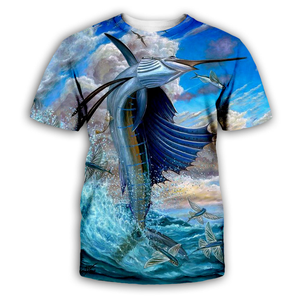 Fish 3D All Over Printed Art Shirts For Men & Women - PLstar VK