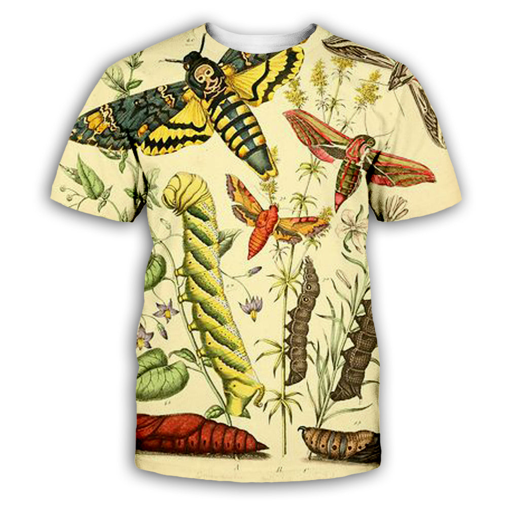 Butterfly 3D All Over Printed Art Shirts For Men & Women - PLstar VK