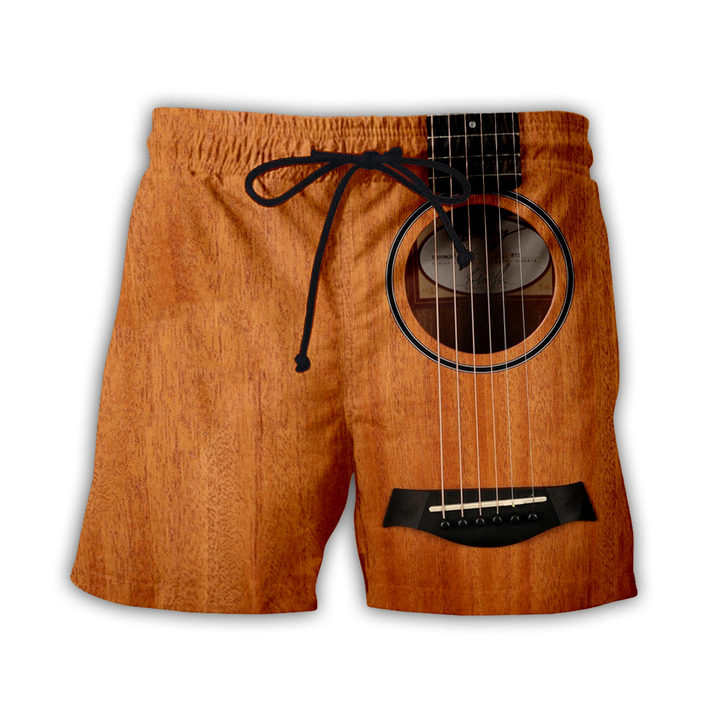Guitars 3D Short Pant Full Printing - PLstar VK