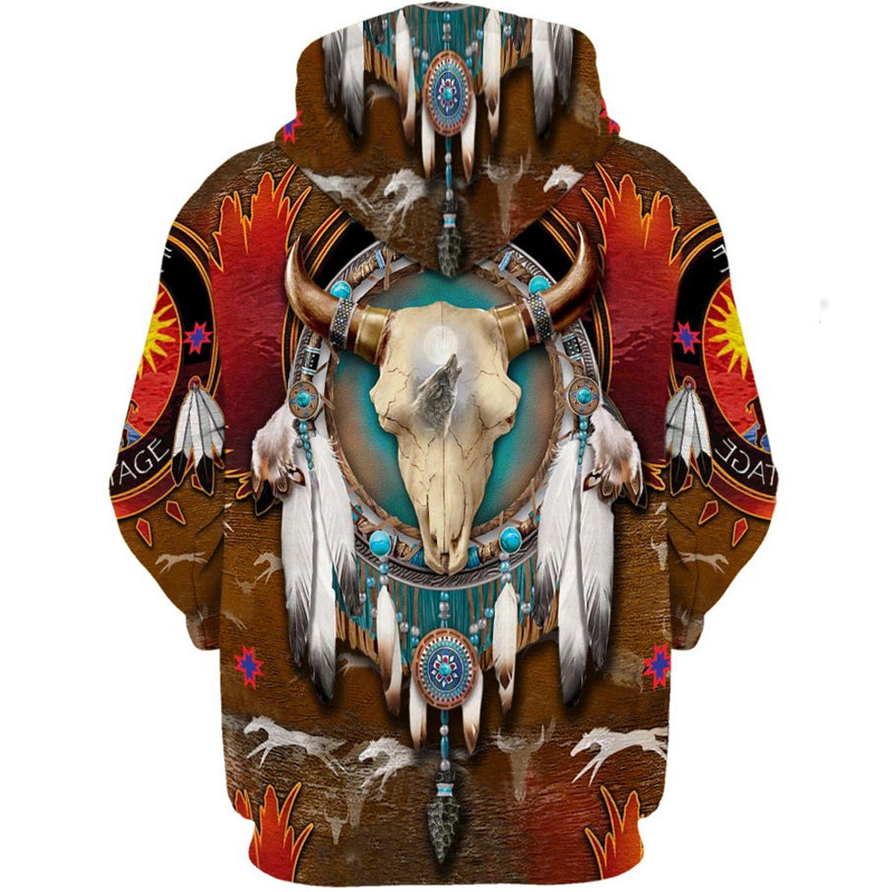Native Bison Skull - PLstar VK