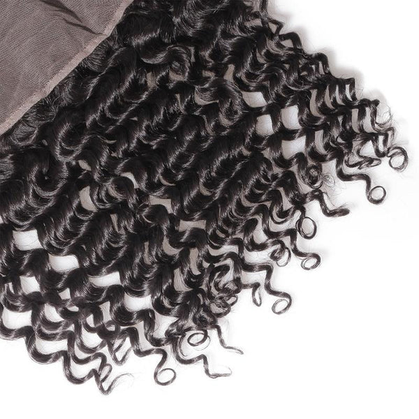 Mink Curly Lace Frontal