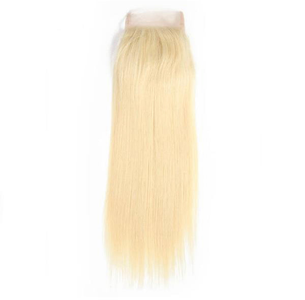 #613 Blonde Mink Straight Closure