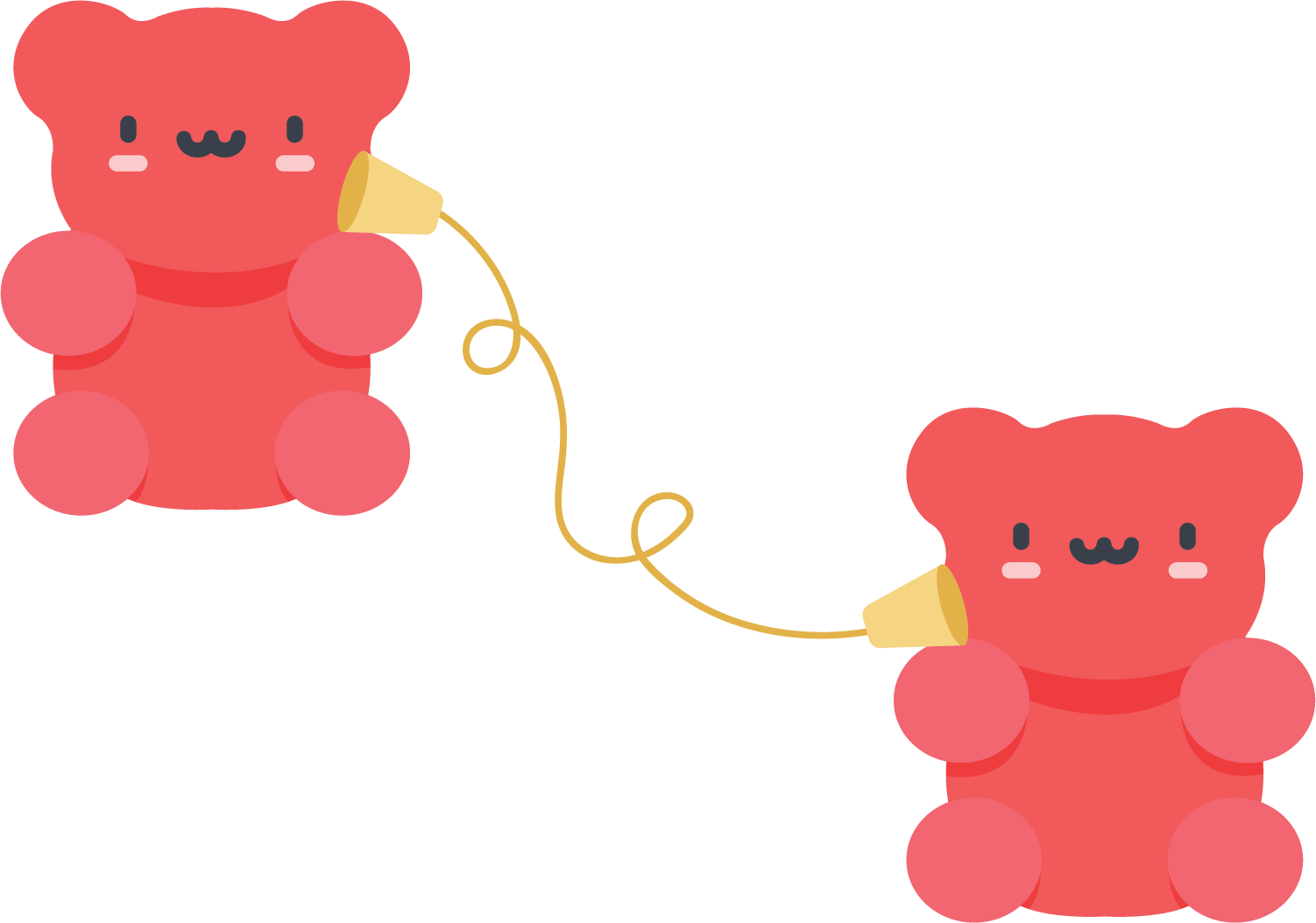 Bears communicating