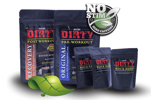 NoStim Ultimate DIRTY Kit with Agmatine Rock Hard