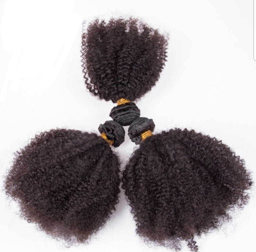 Kinky Curly 3 Bundles Deal