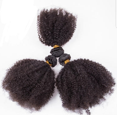 3 Kinky Curly Bundles Deal